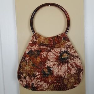 Handbags - Fabric Floral Boho Hippie Bag Purse